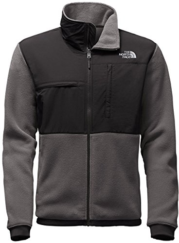 The North Face Denali 2 Jacket - Men's Recycled Charcoal Grey Heather/TNF (The North Face Denali Jacket)