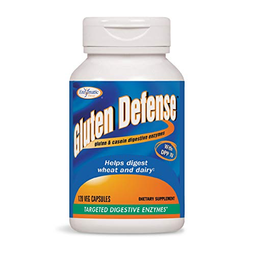 Nature's Way Gluten Defense, Gluten & Casein Targeted Digestive Enyzmes, 120 VCaps (Packaging May Vary) ()