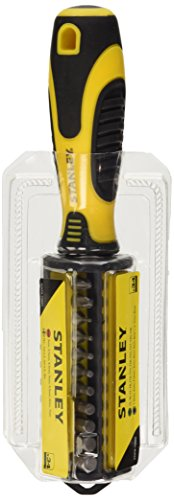 Stanley STHT0-70885 Multi Bit Screwdriver Set (35-piece), Yellow/Black
