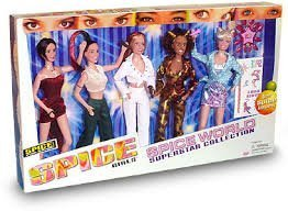 Buy spice girls dolls complete set