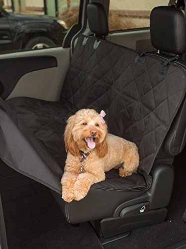 Internet's Best Car Bench Seat Cover | Seat Cover for Pets | Seat Protector Cover | Back Seat Dog Cover | Hammock Convertible | Water Resistant