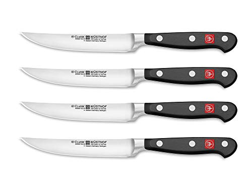(Wüsthof Classic Steak Knife Set, 4-Piece)