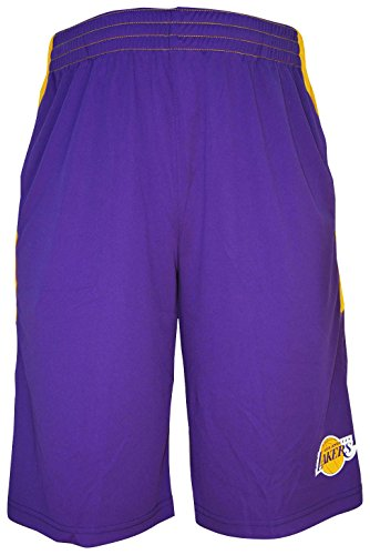 Los Angeles Lakers NBA Youth Jersey Shorts - Purple - Nba Shorts And Jerseys