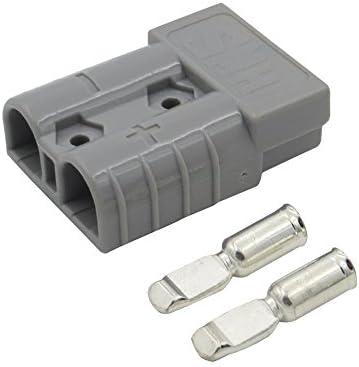 50 Amp stekker Anderson Power Pole 1224V elektrische lader batterij aansluiting DC voeding stekker voor zonnelaadregelaar grijs