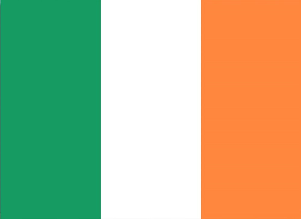 Shamrock Hissflagge 90 x 150 cm Fahne Irland Flagge