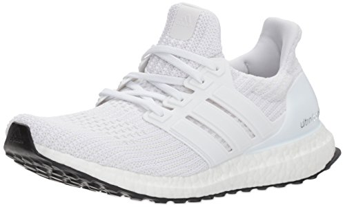 adidas Performance Women's Ultraboost w Road Running Shoe, White/White-2/White, 8 M US by adidas Performance