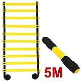 LTDD 5M 10-Rung Sports Agility Ladder Speed Football Training Fast Footwork