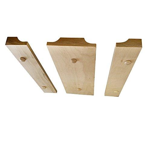 under cabinet wood wine glass rack hanging holder for. Black Bedroom Furniture Sets. Home Design Ideas