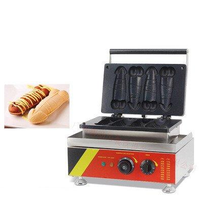 NP520 Commercial Electric Gayke Shaped Waffle Machine Waffle Baker (220V) by JIAWANSHUN