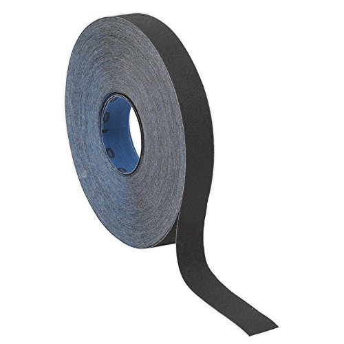 Sealey ER2525120 Emery Roll Blue Twill 25mm x 25mtr 120Grit
