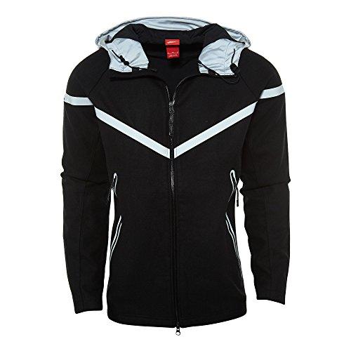 NIKE Ru Wool Reflective Running Jacket Mens Style: 630973-010 Size: M