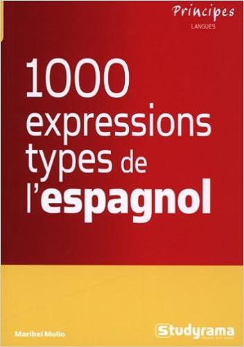 Livre gratuits Les 1000 expressions type de l'espagnol pdf, epub