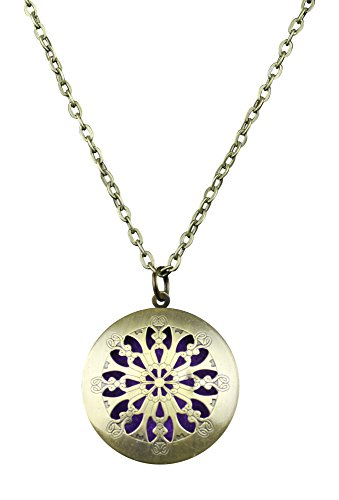 Essential Diffuser Necklace Aromatherapy Antique product image