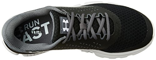 Under Armour UA Micro G Speed Swift 2, Scarpe da Corsa Uomo Nero (Black 001)