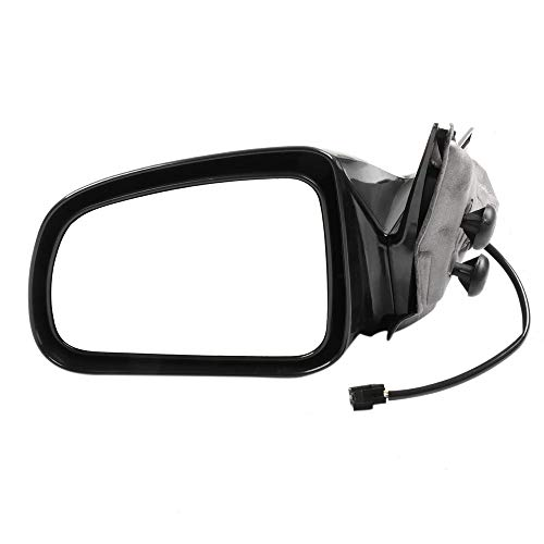 SCITOO Side View Mirror Driver Side Door Mirror fit for Pontiac Grand Prix Black Manual Folding Power Adjustment Power Heated 2004 2005 2006 2007 2008 (Door Prix Grand Pontiac Mirror)