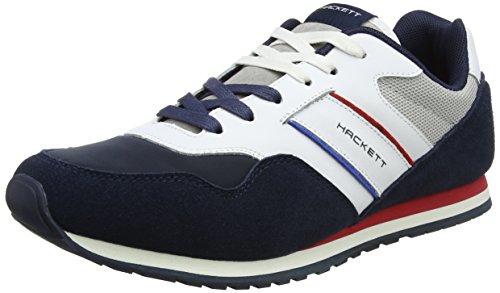 Uomo PRO London Navy Blu Hackett Team Runner Sneaker AX8dqvg
