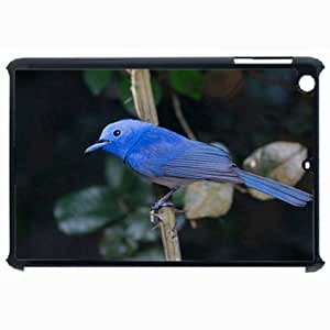 Customized Back Cover Case For iPad Air 5 Hardshell Case, Black Back Cover Design Bird Personalized Unique Case For iPad Air 5