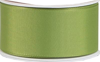 The Gift Wrap Company Wide Grosgrain Ribbon, Olive