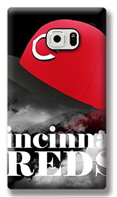 Victore Samsung S6 Case, MLB Cincinnati Reds Hat Hard Case for S6 G9200-Thanksgiving Day Christmas Gift