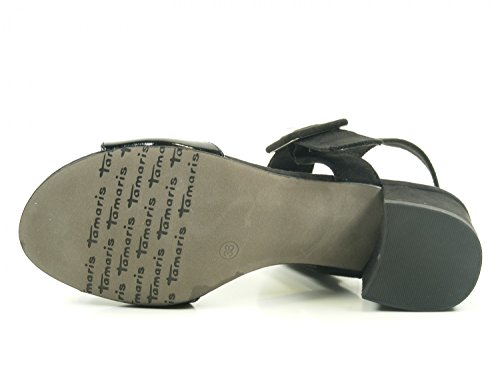 28211 Schwarz femme 28 1 sandales mode Tamaris npBcZwW