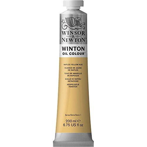 Winsor & Newton Winton Oil Colour Paint, 200ml tube, Naples Yellow Hue