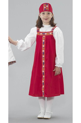 [Russian Girl Costume] (Russian Costume Pattern)