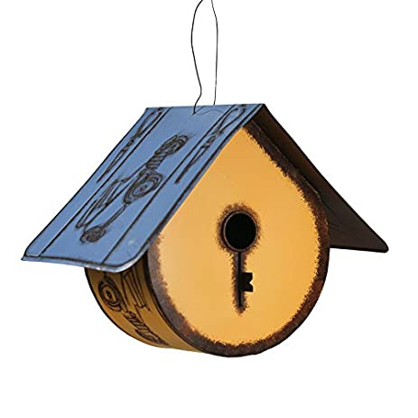 Amazon.com : Rustic Round Bottom Birdhouse with License Plate Style on round bell designs, round animal designs, round jewelry designs, round house designs, round clock designs, round box designs, round dragon designs, round barn designs, round flowers designs, round arbor designs, round floral designs, round angel designs, round mirror designs, round butterfly designs, round garden designs, round baby designs, round boat designs, round art designs,