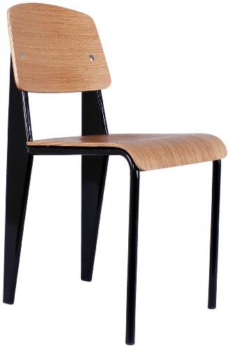 Control Brand DC595BLACK The Standard Chair