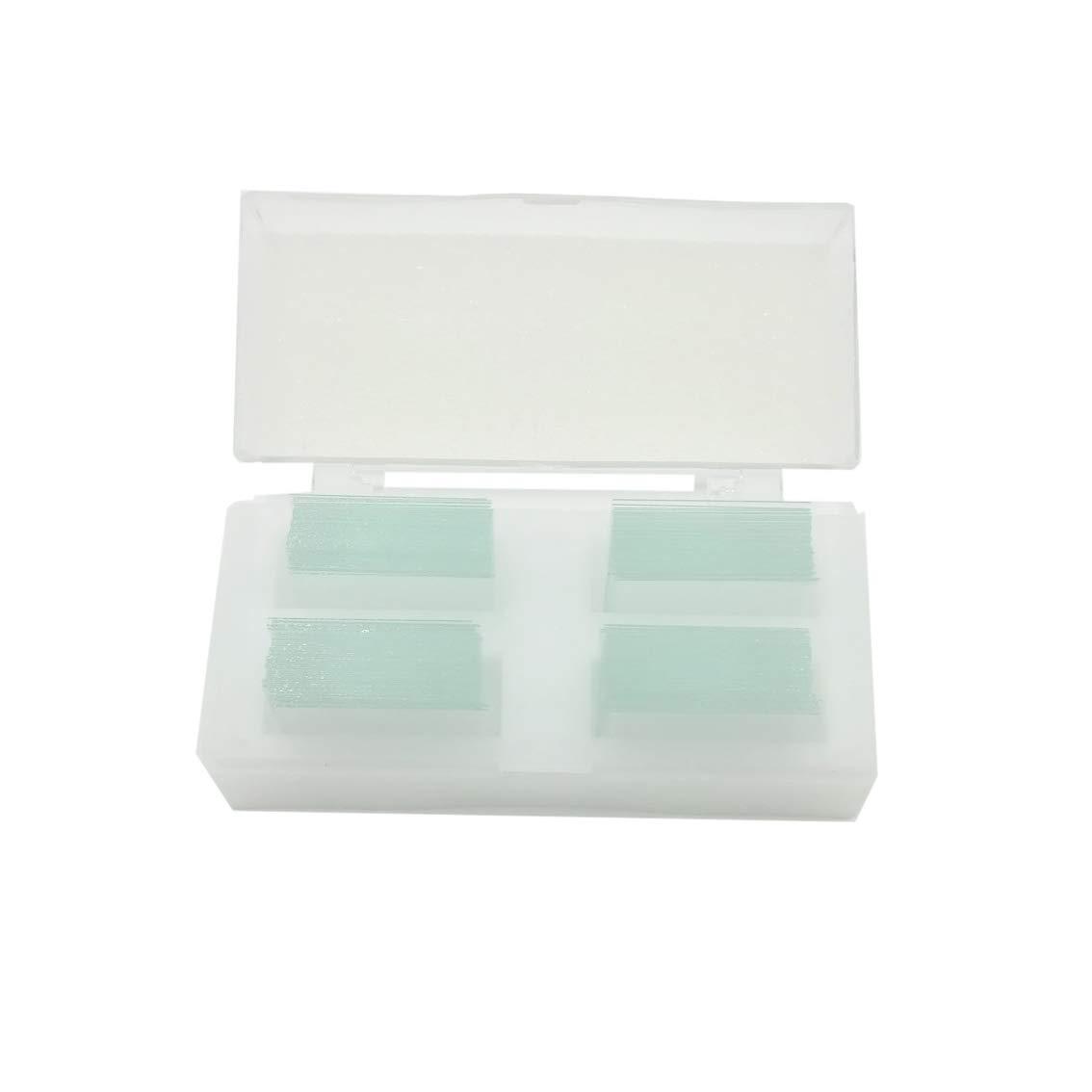 22mm22mm Glass Cover Slips Pre-Cleaned Cover Slip 200pcs//box