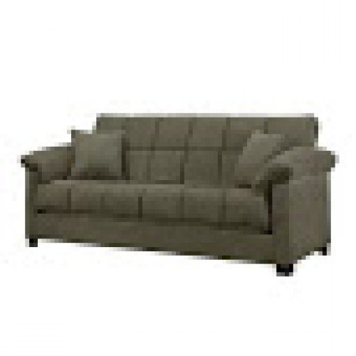 Home Children's Furniture & Bedding Minter Upholstered Sleeper Sofa Sage by Andover Mills