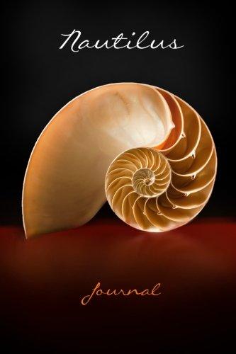 (Nautilus Journal: seashell (Notebook, Diary, Blank Book) 6x9
