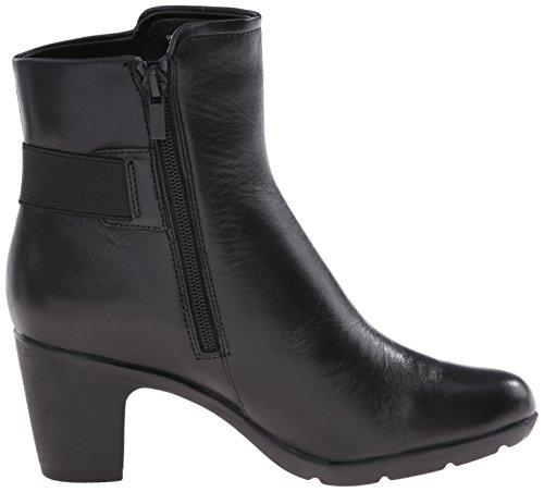 Clarks Lucette joya de arranque Black Leather