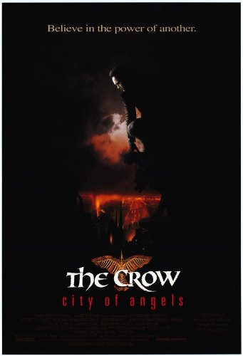 The Crow 2: City of Angels Movie Poster (27 x 40 Inches - 69cm x 102cm) (1996) Style B -(Vincent Perez)(Mia Kirshner)(Iggy Pop)(Richard Brooks)(Ian Dury)(Thuy Trang)