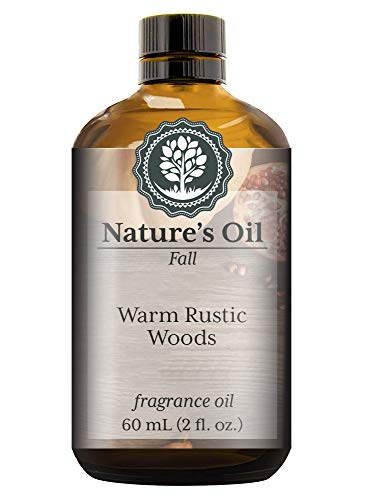 (Warm Rustic Woods Fragrance Oil (60ml) For Diffusers, Soap Making, Candles, Lotion, Home Scents, Linen Spray, Bath Bombs, Slime)
