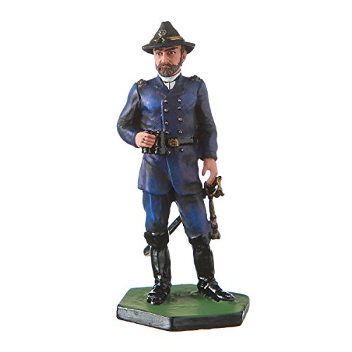 danila-souvenirs Tin Toy Soldier USA Civil war Northerners General George Meade Hand Painted Metal Sculpture Miniature Figurine 54mm #5.58