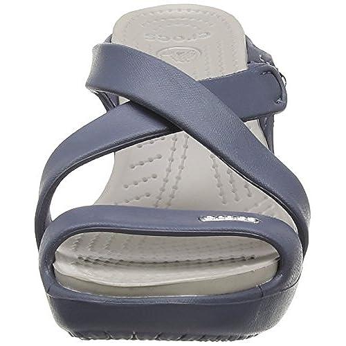 144940678979 Caliente de la venta Crocs Cyprus IV Heel W - Zapatos de vestir de  sintético para