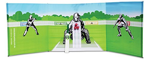 Sticky Wicky All Rounder Cricket Set - the new sensation in cricket for the home and garden!! by Sticky Wicky by Sticky Wicky