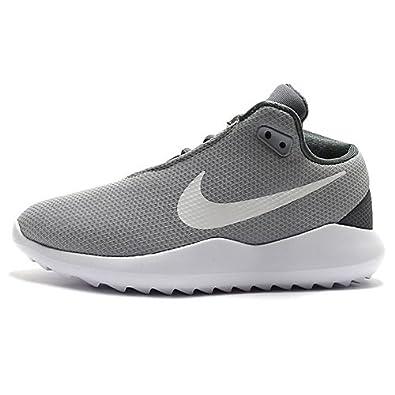 Womens 828407-004 Platform Sandals, Black, 3.5 UK Nike