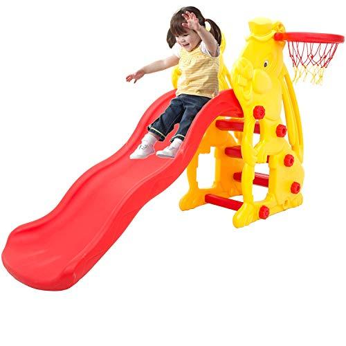 baybee foldable baby garden slide for kids – playgro super senior garden slider – for boys and girls – perfect for home…