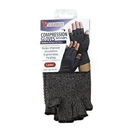 North American Healthcare Compression Gloves- Ladies - 3PC