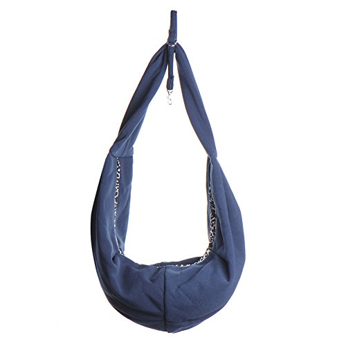 Tragetasche Hundetasche Transporttasche Umhängetasche Katzentasche Schultertasche Tasche für Haustier Hunde Katze Pink/Blau/Rot 60x30 cm