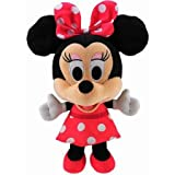Ajstyle soft toy mouse minnie for kids girl Red 25 cm