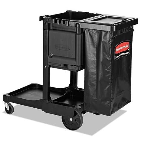 rcp1861430 - Rubbermaid Ejecutivo Conserje carro de limpieza: Amazon.es: Oficina y papelería