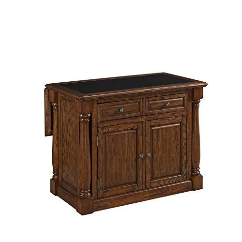 Home Styles 5006-945 Monarch Kitchen Island with Granite Top, Oak Finish