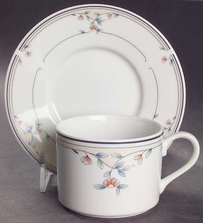 Heritage Blossom Saucer and Tea Cup