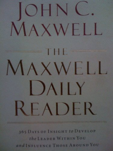 Read Online Maxwell Daily Reader pdf