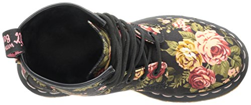 Re Dr Boot Black Victorian Invented Up 1460 Print Women's Lace Martens qqwB1HAO
