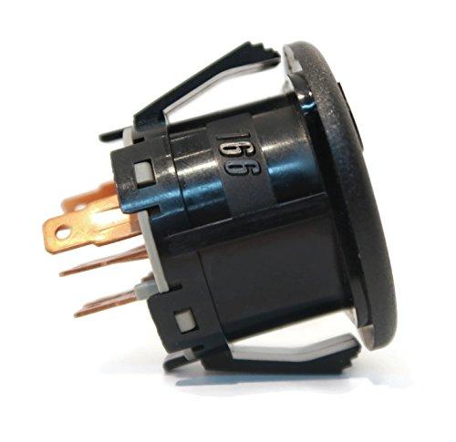 The ROP Shop Ignition Starter Key Switch fits John Deere L100 L105 L107 L108 L110 L120 L130