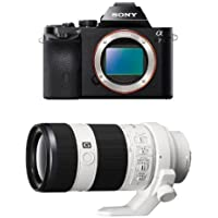 Sony a7 Full-Frame Interchangeable Digital Lens Camera - Body Only w/ 70-200mm