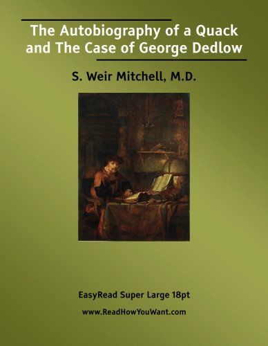 Download The Autobiography of a Quack and The Case of George Dedlow pdf